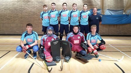 The Eastern Counties Rink Hockey Association Division 1 team.