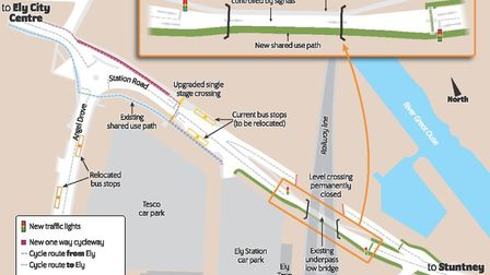 """Traffic lights and the closure of the level crossing to make """"significant improvements"""" once the maj"""