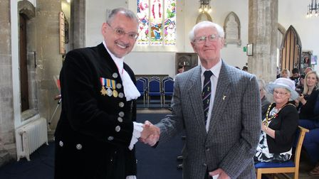 More than 30 veterans from across Fenland were presented with their HM Armed Forces Veterans Badges