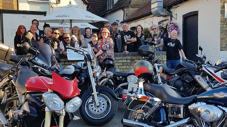 Littleport-based 363 MCC Motorcycle Club has raised over £4,000 for charity during their annual show