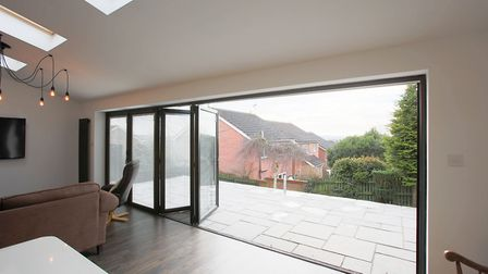 Bi-fold doors can open up your home