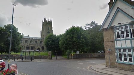 The street where the incident was said to have happened. Picture: Google Maps / Google
