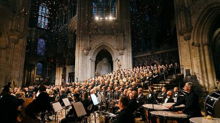 James Billings photographed the Celebration of Peace concert at Ely Cathedral on July 4. The evening