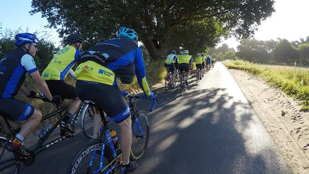 Ely Octagon Cycling Club on its 200 mile trip for charity PHOTO: Octagon Cycling Club
