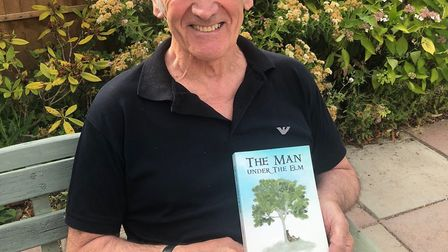 Gerry pictured with his first novel