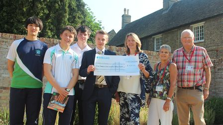 King's Ely students have raised over £3,000 for the charity Hope 4 Malawi.