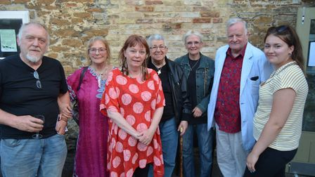 Holding Hands, The Field Theatre's one woman show, is devised by Deborah Curtis (centre) and directe