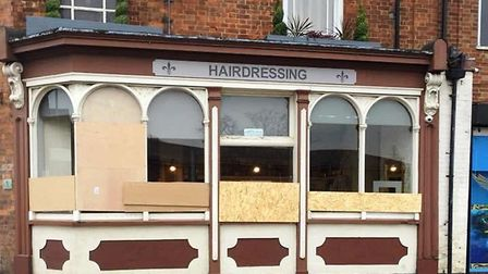The Retreat hairdressing salon in Wisbech has boarded up its windows after the third vandalism attac