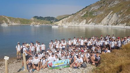 Tenth year for The Malcolm Whales Foundation, supported by Ely College students who took part in a w