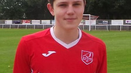 Ely City youngster Tom Thulborn. Picture: ELY CITY FC
