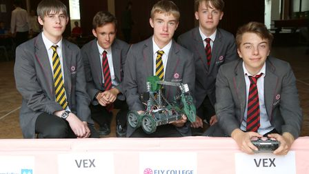 Team SYNEX - Ely College was host to a Withford-based companys robotics event. Picture(s): The Innom