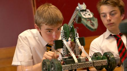 Ely College was host to a Withford-based companys robotics event. Picture(s): The Innomech Group
