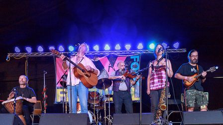 Ely Folk Festival 2018: Hedgepig. PHOTO: Andrew Moore.