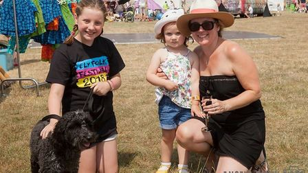 Thousands enjoyed the sunshine whilst watching dozens of local and national band at the 33rd annual