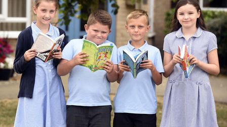 Cavalry - MP Steve Barclay's Read to Succeed raises over 2,000 new books for local children