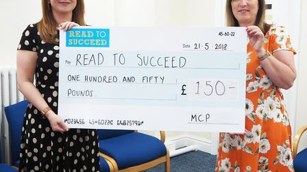 Metcalf Copeman Pettifer - MP Steve Barclays Read to Succeed raises over 2,000 new books for local c