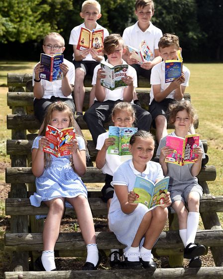 Leverington - MP Steve Barclays Read to Succeed raises over 2,000 new books for local children