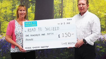 Lamb Weston - MP Steve Barclay's Read to Succeed raises over 2,000 new books for local children