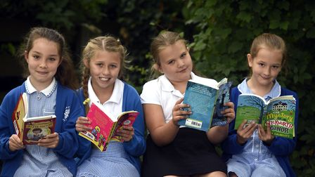 Elm Church of England - MP Steve Barclay's Read to Succeed raises over 2,000 new books for local chi