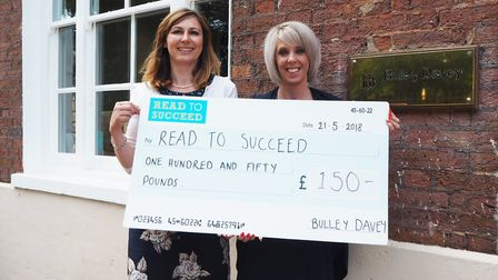 Bulley Davey - MP Steve Barclay's Read to Succeed raises over 2,000 new books for local children