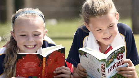Wisbech Grammar - MP Steve Barclays Read to Succeed raises over 2,000 new books for local children