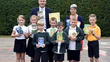 Tydd St Giles Kinderley - MP Steve Barclay's Read to Succeed raises over 2,000 new books for local c