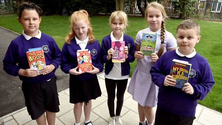 Ramnoth - MP Steve Barclay's Read to Succeed raises over 2,000 new books for local children