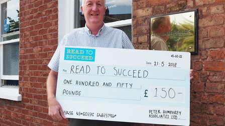 Peter Humphrey - MP Steve Barclay's Read to Succeed raises over 2,000 new books for local children