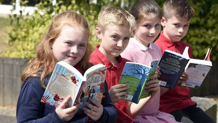 Peckover - MP Steve Barclays Read to Succeed raises over 2,000 new books for local children