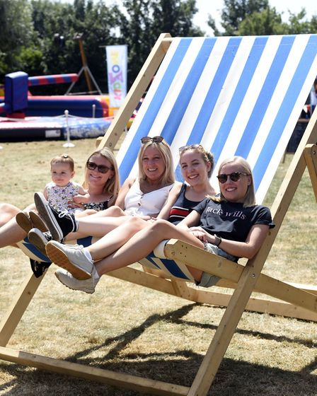 Circus-themed entertainment at Wimblington fun day brings 1,300 to village: Isla Stainton, Hayley St