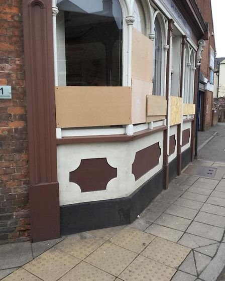 Windows at The Retreat salon in Wisbech have been smashed again. Photo: Marie Faulkner? / Facebook
