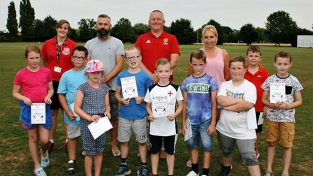 Wisbech Town Hockey Club delivers coaching programme to Thomas Clarkson Academy and Peckover School.