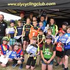 The Ely & District Cycling Club junior riders received their prizes and certificates at the end of t