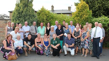The Soham Carnival Cheque presentation and Townspersons of the year, which was held July 24 at The S