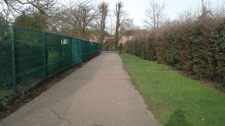 Soham footpath where swearing and loitering is to be banned