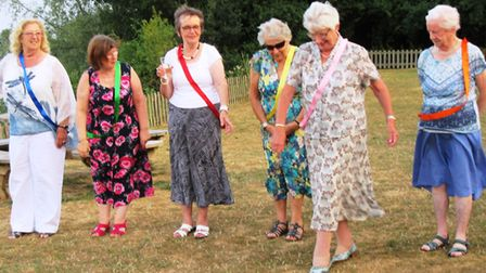Fun and games at Ely Inner Wheel club's president evening. PHOTO: Diana Goldstein.