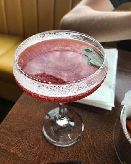 The Basil Grande is one of many cocktails on offer at Six the bar.