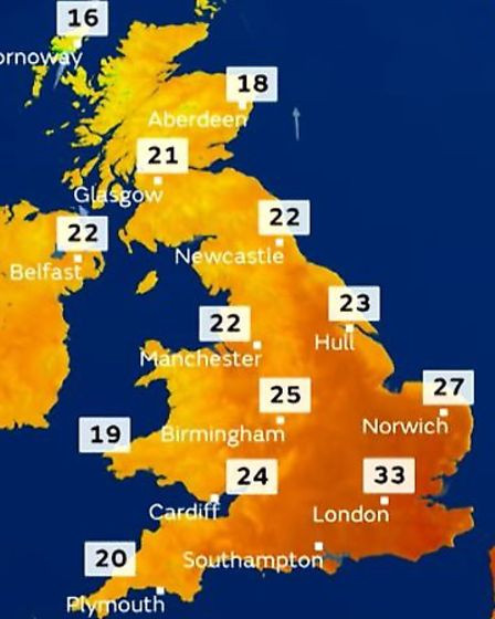 People in Cambridgeshire are being urged to take extra precautions as temperatures are set to reach