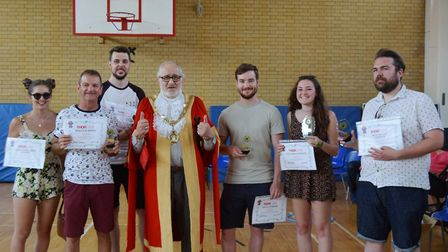 Thorlabs summer party was a hoot for staff as they were commended for their hard work