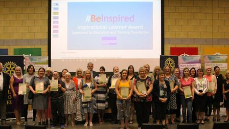 Achievements of some of Cambridgeshire's most inspirational learners, volunteers and local learning