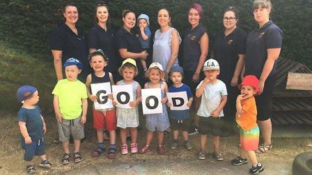 March nursery ranked good by Oftsed. Photo: Submitted