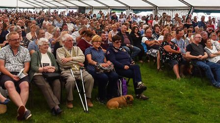 Crowds at last year's Sandringham Food and Drink Festival. PHOTO: Archant.