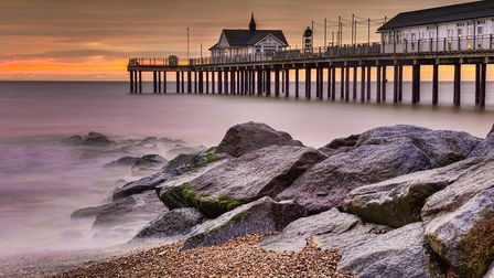 Southwold sunrise by Phil Lenney. Ely Photographic Club. PHOTO: Phil Lenney