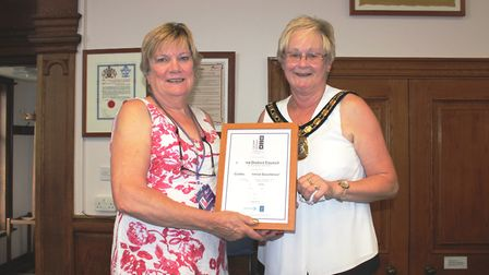 Fenland District Council maintaining its customer service excellence (CSE) accreditation. Council Ch