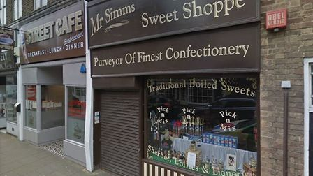 Popular Ely sweet shop Mr Simms set to close due to 'business rates and fading footfall'. Photo: Goo