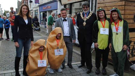 Isle of Ely Produce organisers of the annual Potato Race on the streets of Ely have today announced