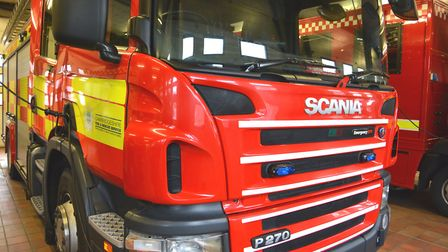 Two crews attended the fire in Little Downham