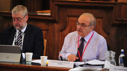 FACT, HACT and ESACT report from Shire Hall on Tuesday, July 31. Picture: HARRY RUTTER / Archant 201
