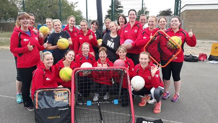 Ely Netball Club awarded grant for new playing equipment. Picture: Submitted