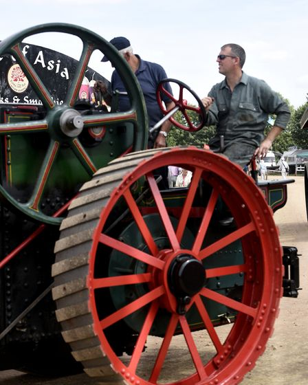 Hundreds attended the March Steam and Vintage Show weekend, an event on every steam buffs calendar.